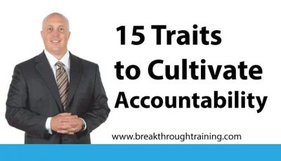 15 Traits to Cultivate Accountability