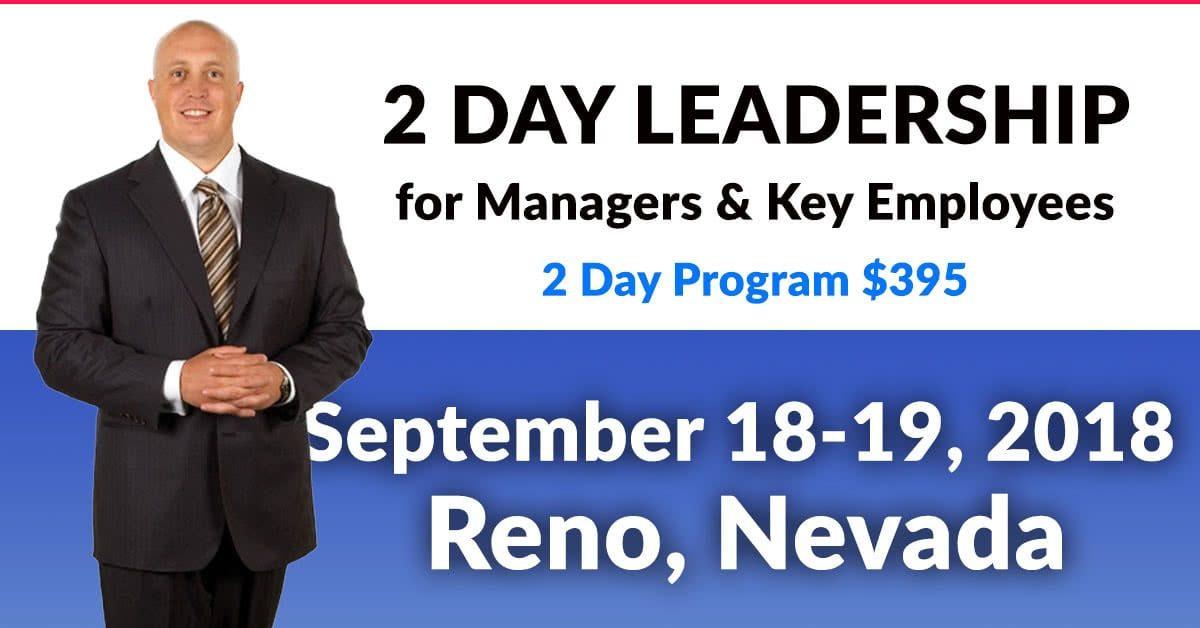 Reno Calendar June : Day leadership training workshop august reno
