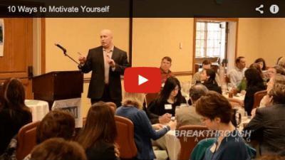 10 Ways to Motivate Keynote Presentation with Jeffey Benjamin at Reno Human Resource Association Breakthrough Training