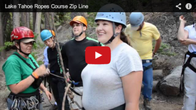 Lake Tahoe Ropes Course with Server Technology Breakthrough Training