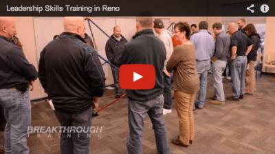 AGC Reno Leadership Program Reviews Breakthrough Training