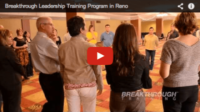 PACE Leadership Program Reno Spark Chamber of Commerce Facilitated by Jeffrey Benjamin of Breakthrough Training
