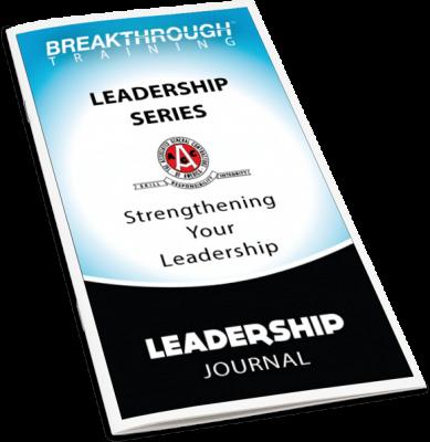 AGC Leadership Series Journal Cover