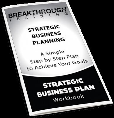 Strategic Business Plan Journal - Breakthrough Training