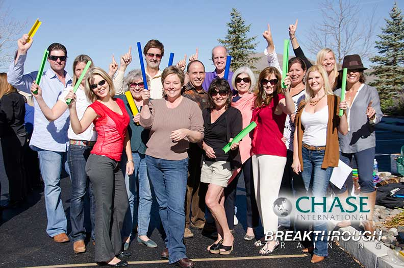Chase International Team Building