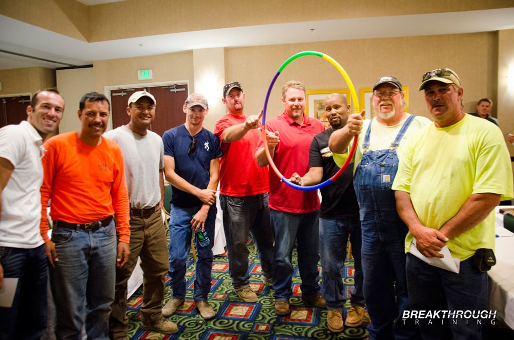 C. C. Myers Construction Safety Team Building Training