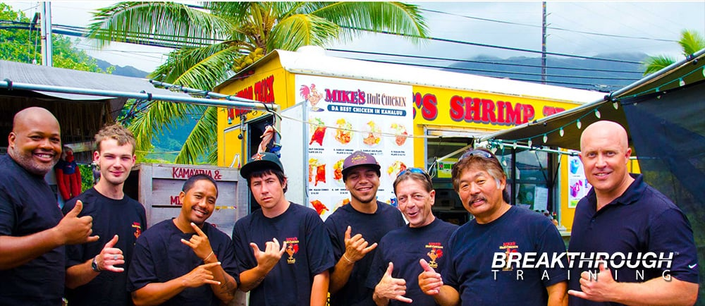 Customer Service Training in Hawaii with Mike's Huli Chicken