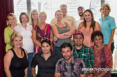 Communication Training in Reno with Peri & Son's Farms facilitated by Jeffrey Benjamin of Breakthrough Training.
