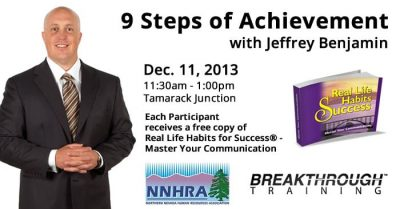 NNHRA Holiday Luncheon - 9 Steps of Achievement with Jeffrey Benjamin