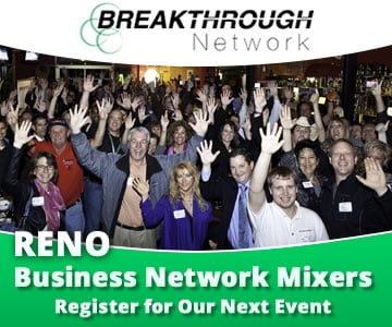 Breakthrough Networking Events AD Breakthrough Training