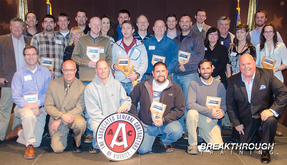 Nevada Associated General Contractors leadership program is facilitated by Breakthrough Training in Reno