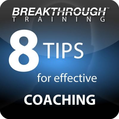 How to coach people effectively