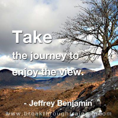 jeff benjamin famous quote