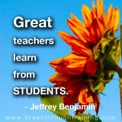 Jeffrey Benjamin quotes on success
