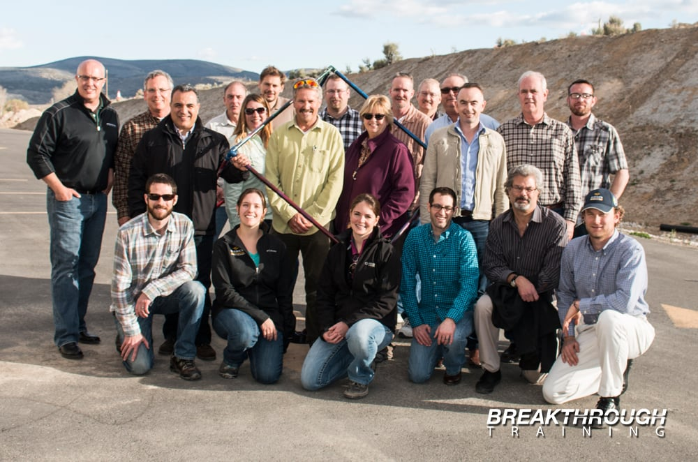 Barrick Gold Team Building for Employees