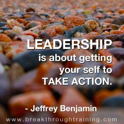 Jeffrey Benjamin leadership quotes