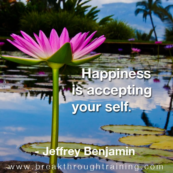 Jeffrey Benjamin happiness quote