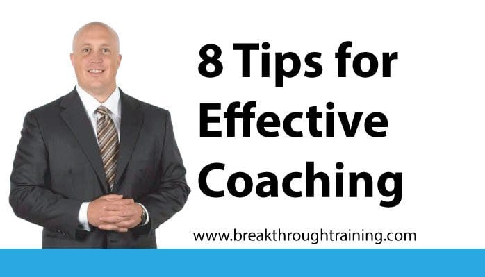8 Coaching Tips