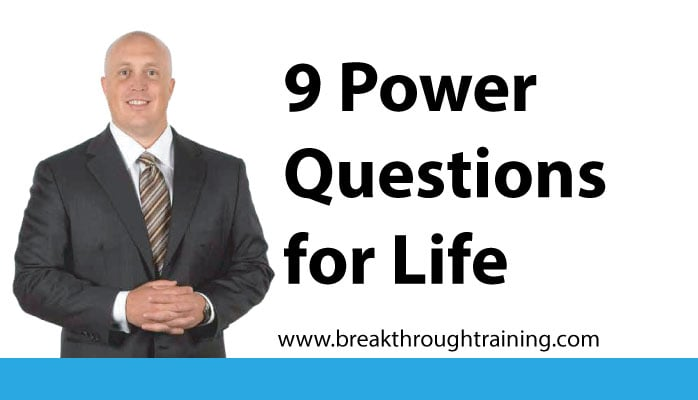9 Power Questions for Life