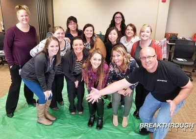 aureus-medical-team-building-training-prgram-omaha-nebraska-activity-tarp-green