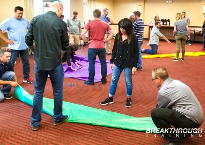 denver-leadership-training-breakthrough-pk-electrical-tarp-activity