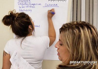 reno-sparks-indian-colony-team-building-training-breakthrough-writing-poster-communication-styles